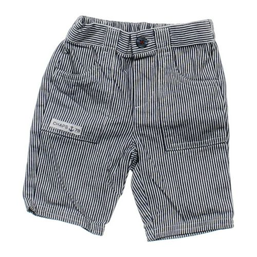 Chaps Pinstriped Shorts in size 3 mo at up to 95% Off - Swap.com