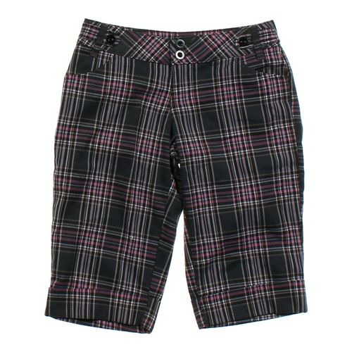 LEI Plaid Bermuda Shorts in size JR 5 at up to 95% Off - Swap.com