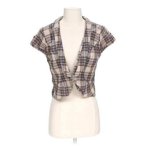 Mossimo Supply Co. Plaid Blazer in size S at up to 95% Off - Swap.com