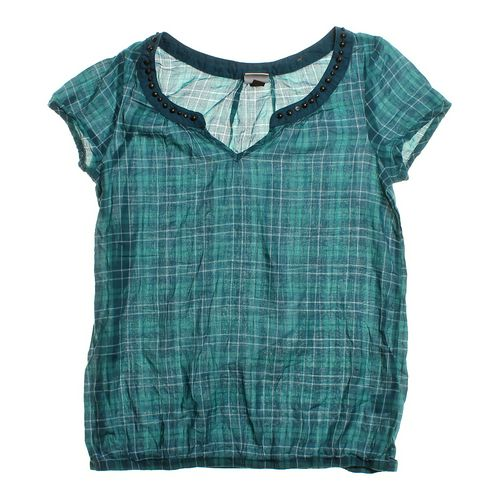 Sonoma Plaid Blouse in size JR 3 at up to 95% Off - Swap.com