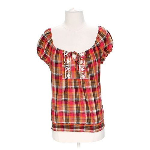Plaid Blouse in size S at up to 95% Off - Swap.com