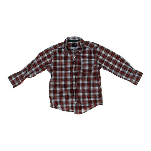 Carter's Plaid Button-down Shirt in size 4/4T at up to 95% Off - Swap.com