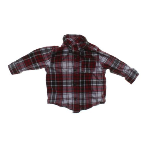 Gymboree Plaid Button-down Shirt in size 12 mo at up to 95% Off - Swap.com