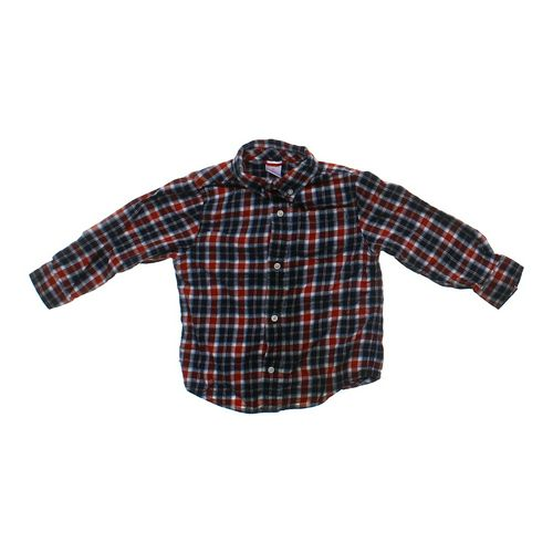 Gymboree Plaid Button-down Shirt in size 3/3T at up to 95% Off - Swap.com