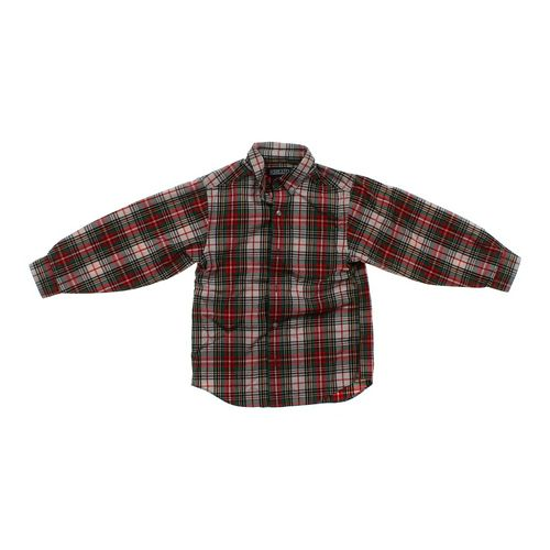 Lands' End Plaid Button-down Shirt in size 14 at up to 95% Off - Swap.com