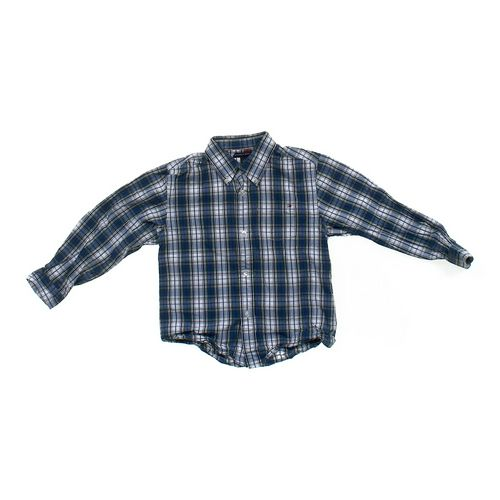 Tommy Hilfiger Plaid Button-down Shirt in size 7 at up to 95% Off - Swap.com