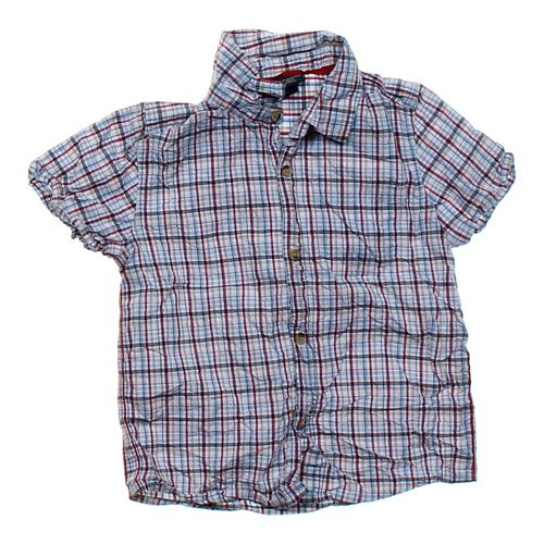 Cherokee Plaid Button-down Shirt in size 5/5T at up to 95% Off - Swap.com
