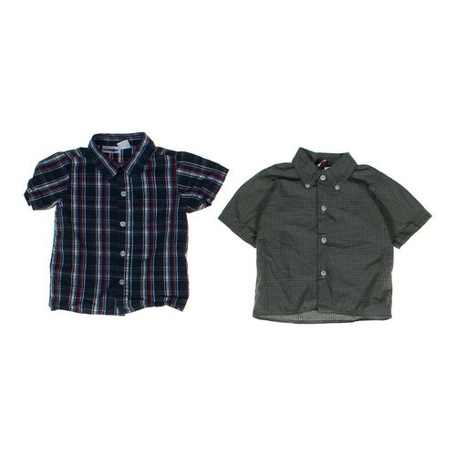Babies R Us Plaid Button-up & Button-down Shirt Set in size 18 mo at up to 95% Off - Swap.com