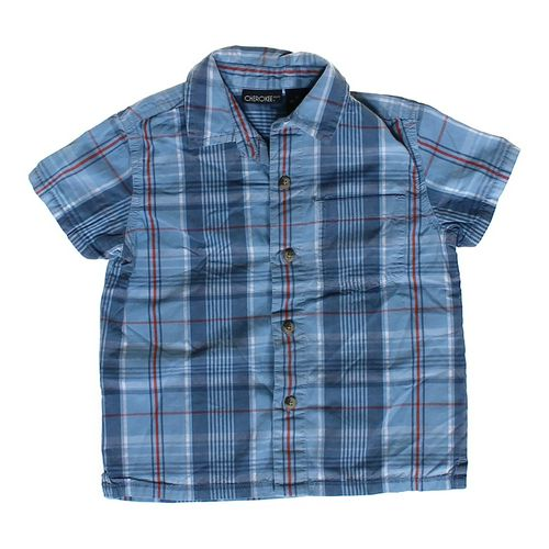 Cherokee Plaid Button-up in size 4/4T at up to 95% Off - Swap.com