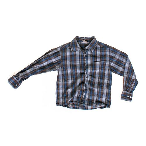 Faded Glory Plaid Button-up in size 8 at up to 95% Off - Swap.com