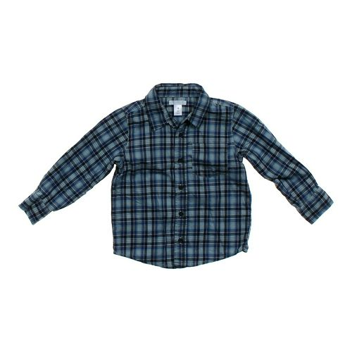 Old Navy Plaid Button-up in size 4/4T at up to 95% Off - Swap.com