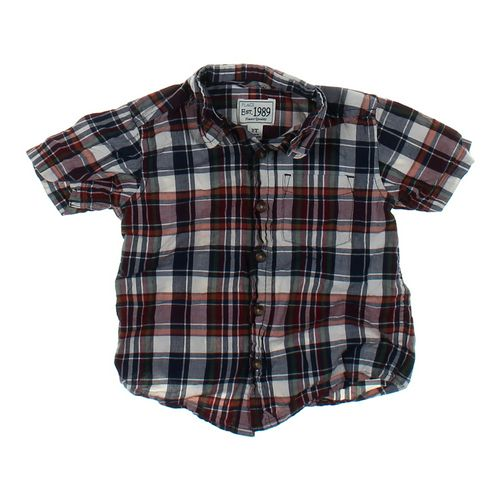 The Children's Place Plaid Button-up in size 2/2T at up to 95% Off - Swap.com