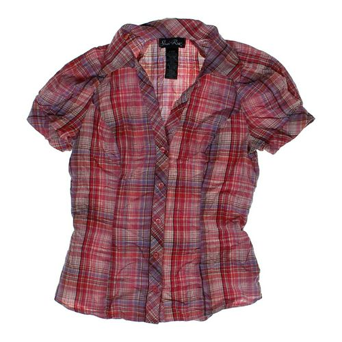Susie Rose Plaid Button-up in size JR 3 at up to 95% Off - Swap.com