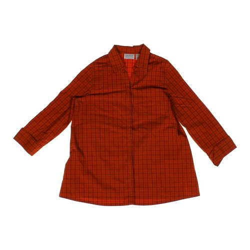New Additions Plaid Button-up Maternity Shirt in size M (8-10) at up to 95% Off - Swap.com