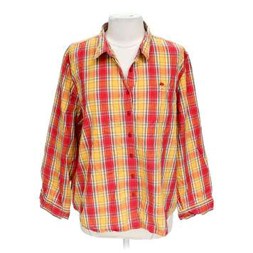 Plaid Button-Up Shirt for Sale on Swap.com