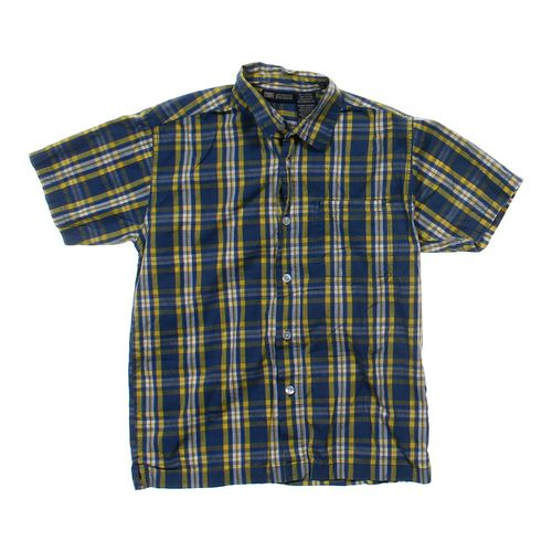 Faded Glory Plaid Button-up Shirt in size 10 at up to 95% Off - Swap.com