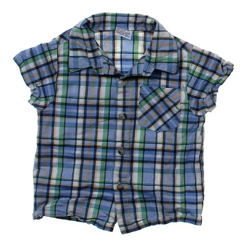 Plaid Button-up Shirt in size 24 mo at up to 95% Off - Swap.com
