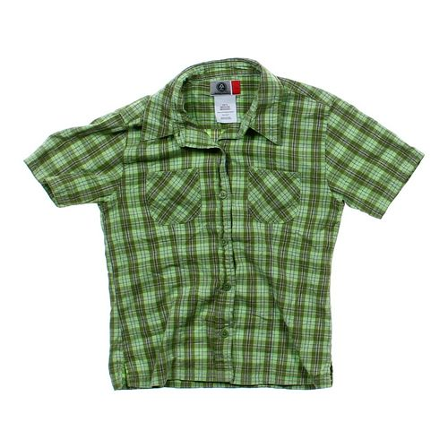 Arizona Plaid Button-up Shirt in size 10 at up to 95% Off - Swap.com