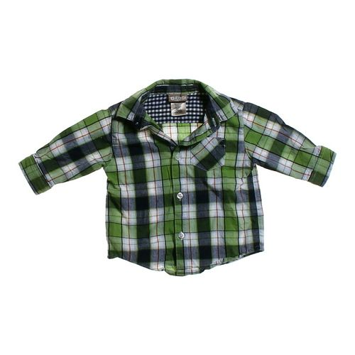 Arizona Plaid Button-up Shirt in size 3 mo at up to 95% Off - Swap.com