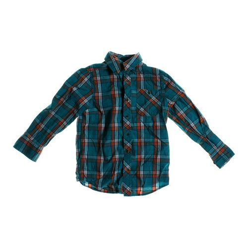 Arizona Plaid Button-up Shirt in size 8 at up to 95% Off - Swap.com