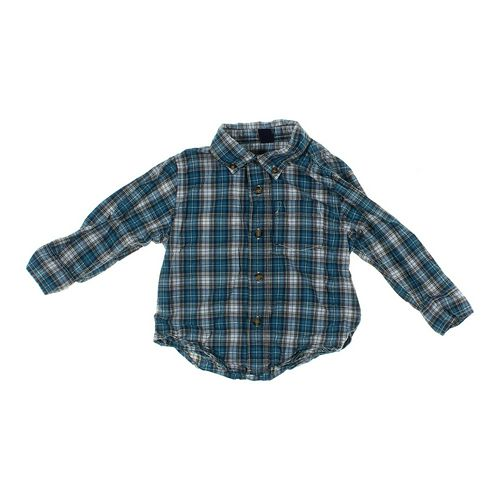 babyGap Plaid Button-up Shirt in size 18 mo at up to 95% Off - Swap.com