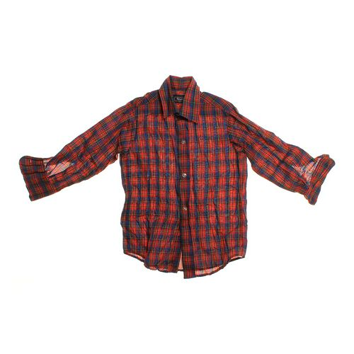 Bruxton Plaid Button-up Shirt in size 6 at up to 95% Off - Swap.com