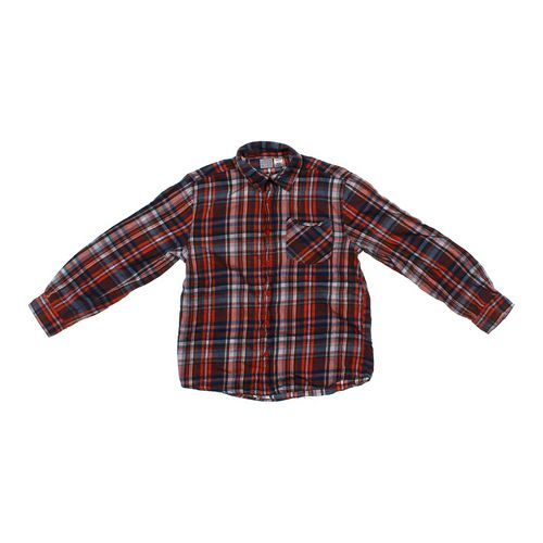 Canyon River Blues Plaid Button-up Shirt in size 10 at up to 95% Off - Swap.com