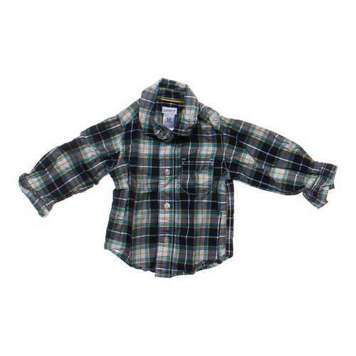 Carter's Plaid Button-up Shirt in size 12 mo at up to 95% Off - Swap.com