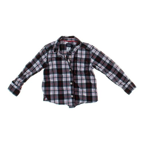 Carter's Plaid Button-up Shirt in size 2/2T at up to 95% Off - Swap.com