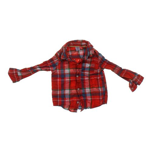 Carter's Plaid Button-up Shirt in size 24 mo at up to 95% Off - Swap.com