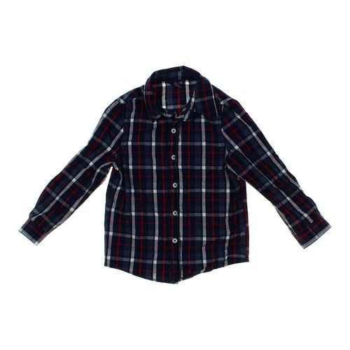 Cherokee Plaid Button-up Shirt in size 5/5T at up to 95% Off - Swap.com