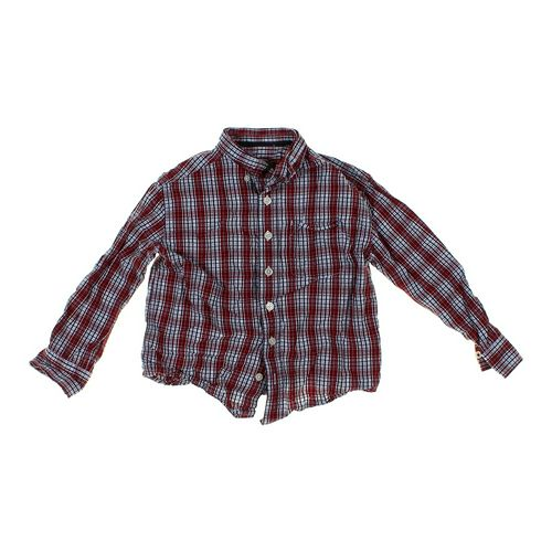 Cherokee Plaid Button-up Shirt in size 6 at up to 95% Off - Swap.com