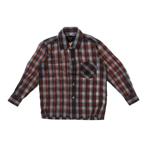 Christopher Rand Plaid Button-up Shirt in size 5/5T at up to 95% Off - Swap.com