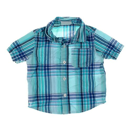 Crazy 8 Plaid Button-up Shirt in size 12 mo at up to 95% Off - Swap.com