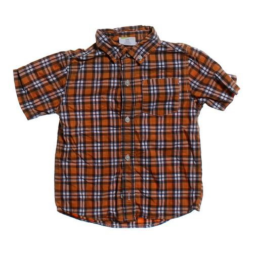 Crazy 8 Plaid Button-up Shirt in size 3/3T at up to 95% Off - Swap.com
