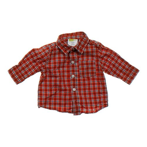 Crazy 8 Plaid Button-up Shirt in size 3 mo at up to 95% Off - Swap.com