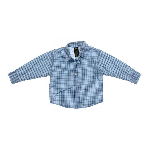Dockers Plaid Button-up Shirt in size 3/3T at up to 95% Off - Swap.com