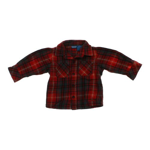 French Toast Plaid Button-up Shirt in size 18 mo at up to 95% Off - Swap.com