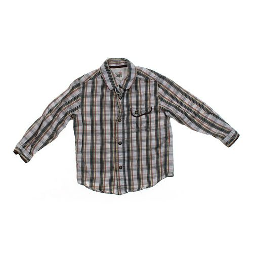 Genuine Kids from OshKosh Plaid Button-up Shirt in size 5/5T at up to 95% Off - Swap.com
