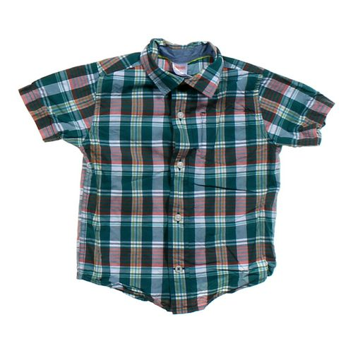 Gymboree Plaid Button-Up Shirt in size 2/2T at up to 95% Off - Swap.com