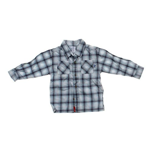Gymboree Plaid Button-up Shirt in size 3/3T at up to 95% Off - Swap.com