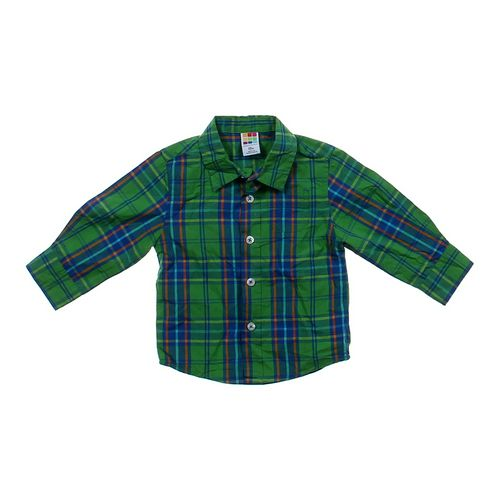 Healthtex Plaid Button-up Shirt in size 12 mo at up to 95% Off - Swap.com