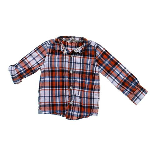 Healthtex Plaid Button-Up Shirt in size 24 mo at up to 95% Off - Swap.com