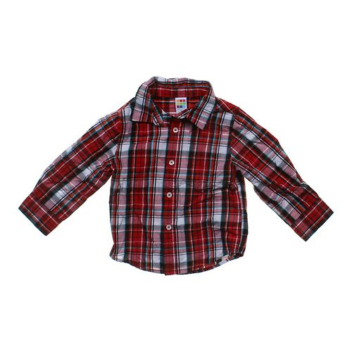 Healthtex Plaid Button-up Shirt in size 3/3T at up to 95% Off - Swap.com