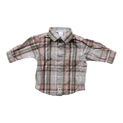 Janie and Jack Plaid Button-up Shirt in size NB at up to 95% Off - Swap.com