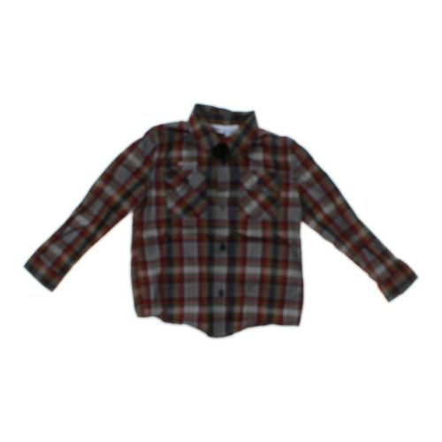 Kids R Us Plaid Button-Up Shirt in size 4/4T at up to 95% Off - Swap.com