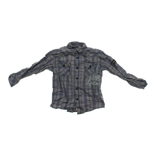 Mossimo Supply Co. Plaid Button-up Shirt in size 6 at up to 95% Off - Swap.com