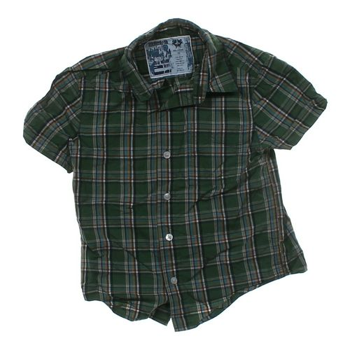 Old Navy Plaid Button-up Shirt in size 4/4T at up to 95% Off - Swap.com