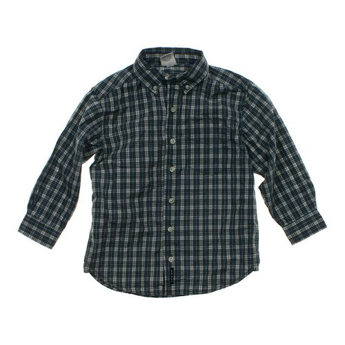 Old Navy Plaid Button-up Shirt in size 5/5T at up to 95% Off - Swap.com