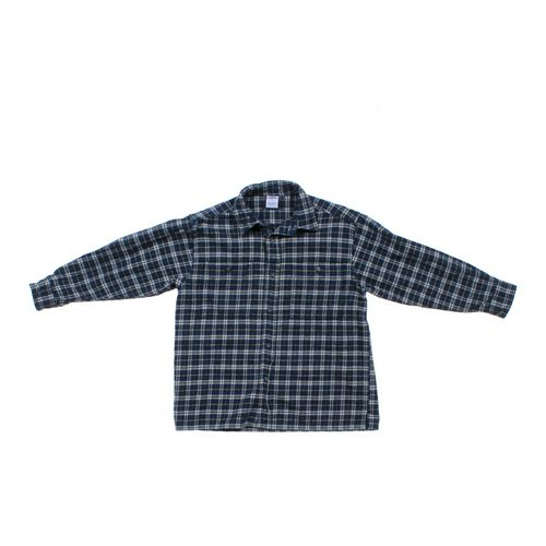 Old Navy Plaid Button-Up Shirt in size 8 at up to 95% Off - Swap.com